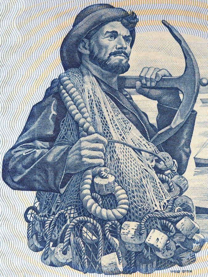 Fisherman portrait royalty free stock photos