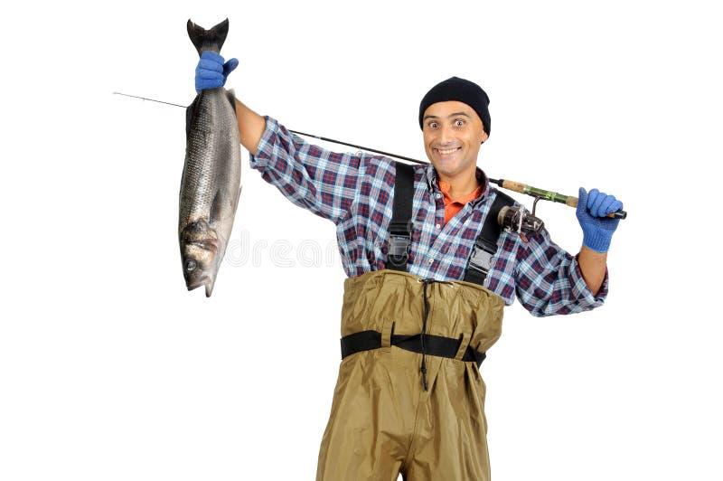 Fisherman's catch stock photography