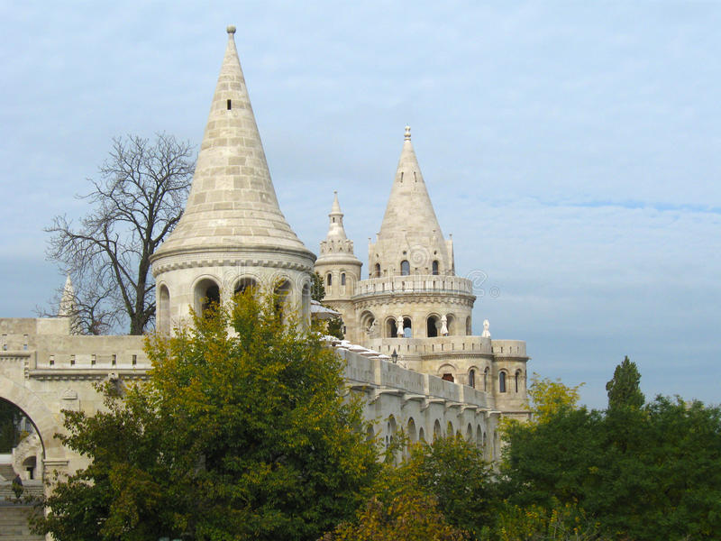 Fisherman S Bastion Royalty Free Stock Image