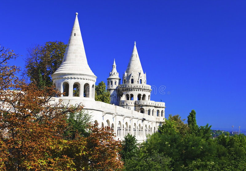 Download Fisherman's Bastion stock image. Image of bright, ancient - 9104485