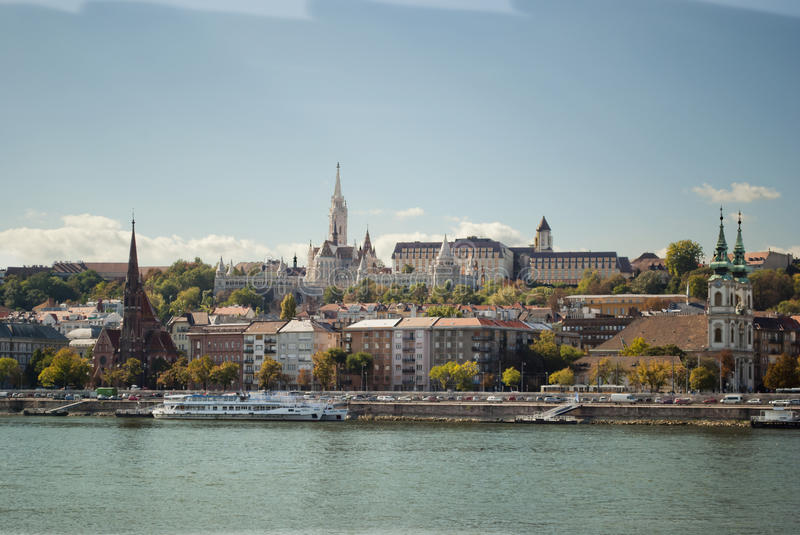 Fisherman's Bastion in Budapest (Hungary) royalty free stock photos