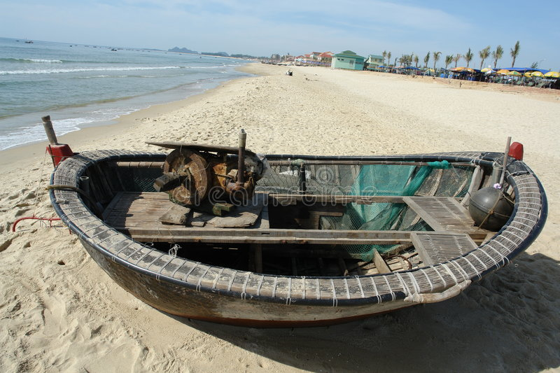 Fisherman's boat royalty free stock images