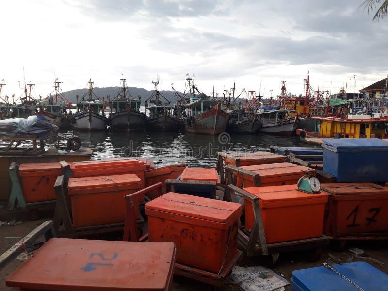 Fisherman& x27; s parkeren stock foto's