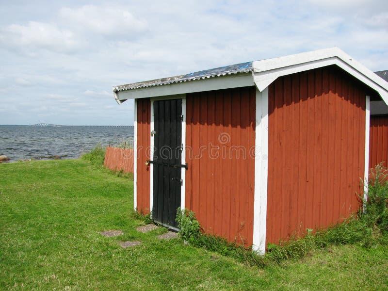 Fishermans恢复瑞典 免版税图库摄影