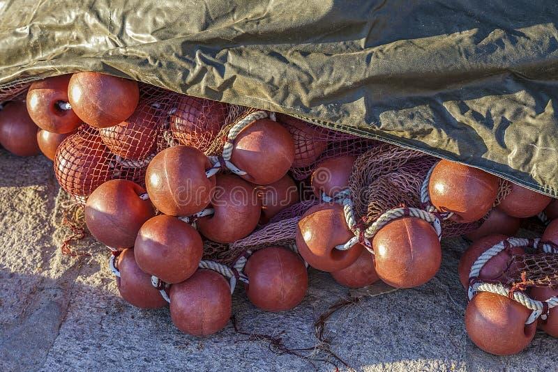 Fishermans捕鱼网 图库摄影