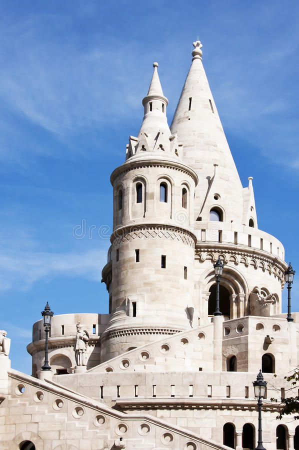 Fishermans Bastion stockfotos