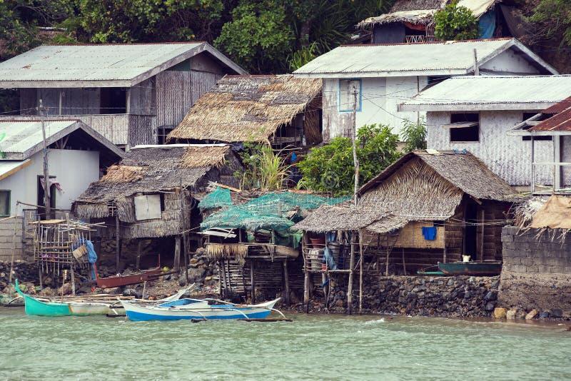 Fishermans Dorf lizenzfreie stockbilder