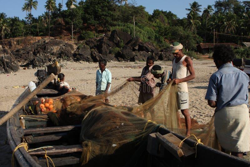 Download Fishermans from Karnataka editorial photo. Image of sand - 12869611