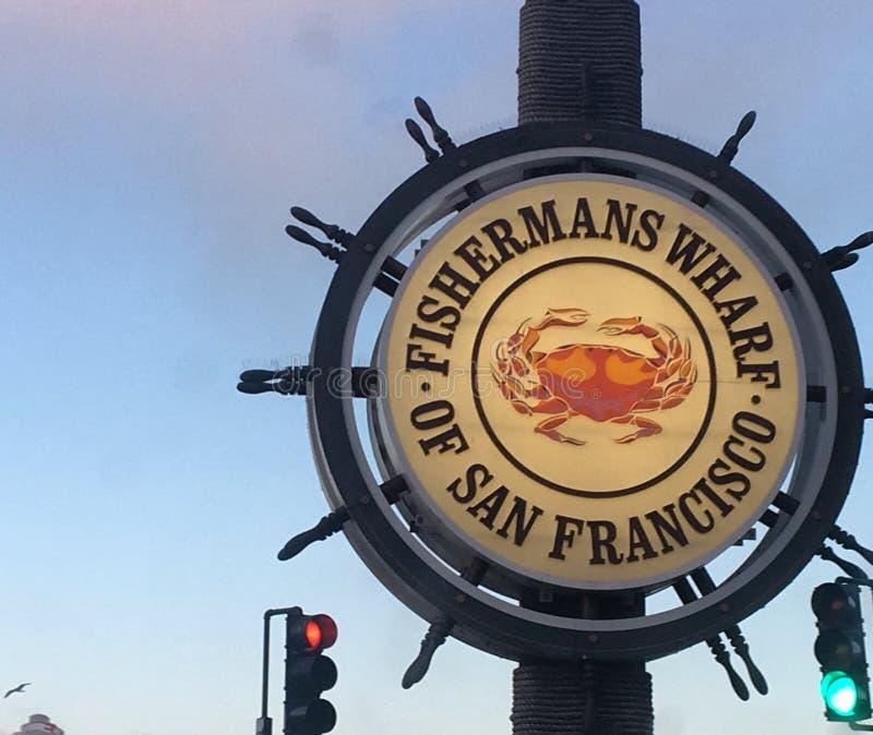 Fishermans Wharf, San Francisco, California royalty free stock photo