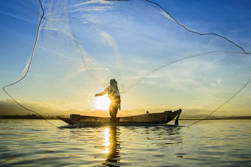fishermen royalty free stock photos