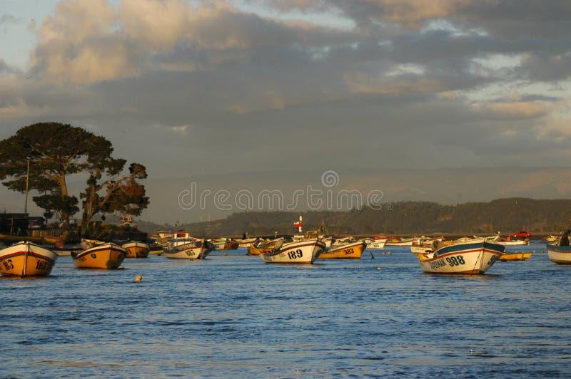 Fishermen cove royalty free stock image