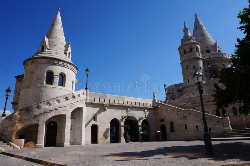 Fishermen's Bastion in Budapest royalty free stock photography