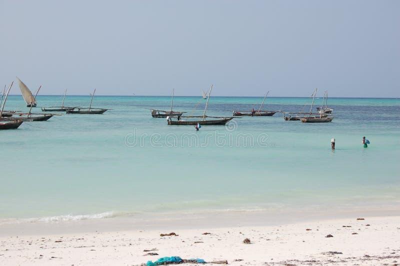 Fishermen's boats royalty free stock photos