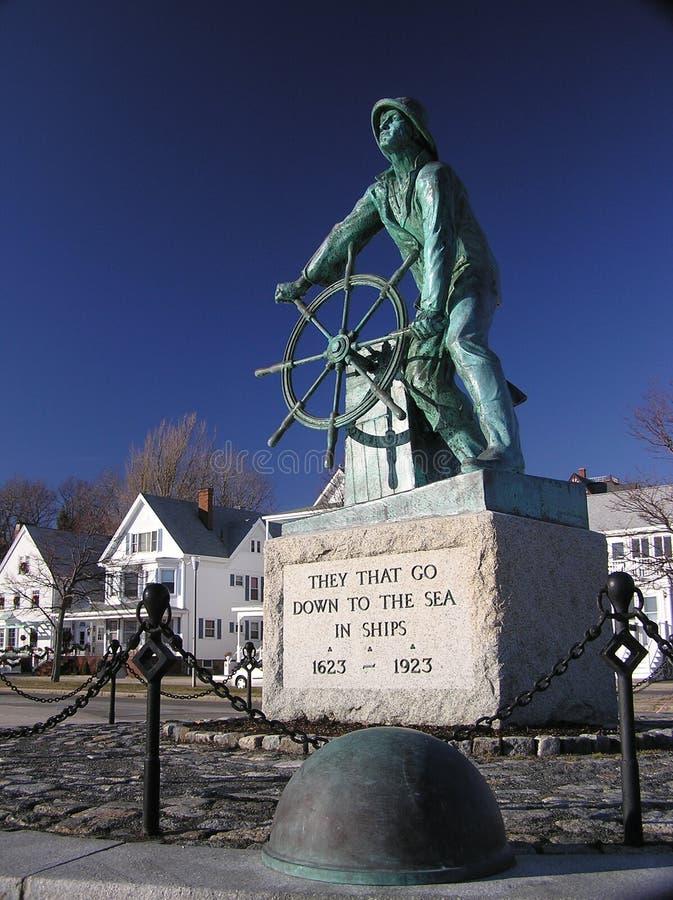 Download The Fishermen's Memorial stock image. Image of statue - 1993095