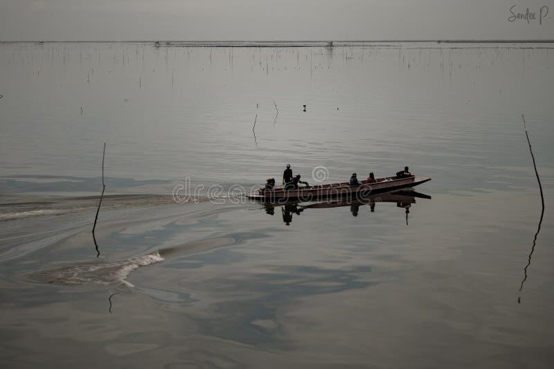 Fishers утра стоковые изображения