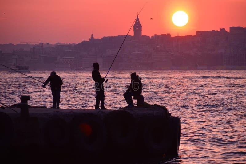 fishers royaltyfri bild
