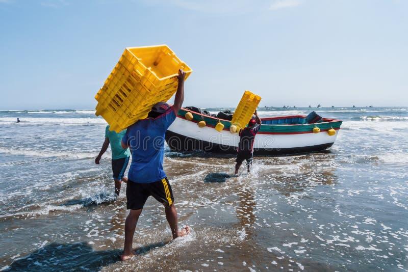 fishers fotos de stock