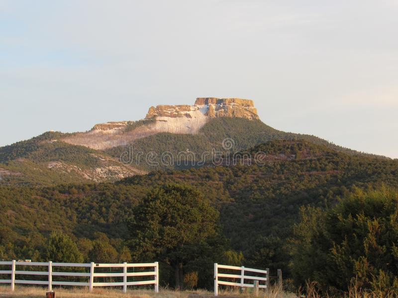 Fishers Peak - Trinidad Colorado royalty free stock photos