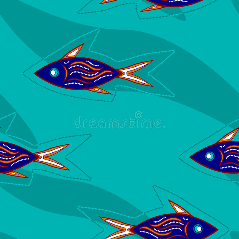 Download Fishes stock vector. Illustration of ocean, africa, seamless - 15898023