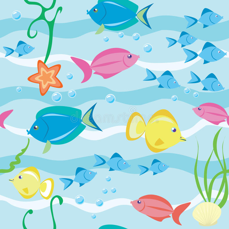 Fishes vector illustration
