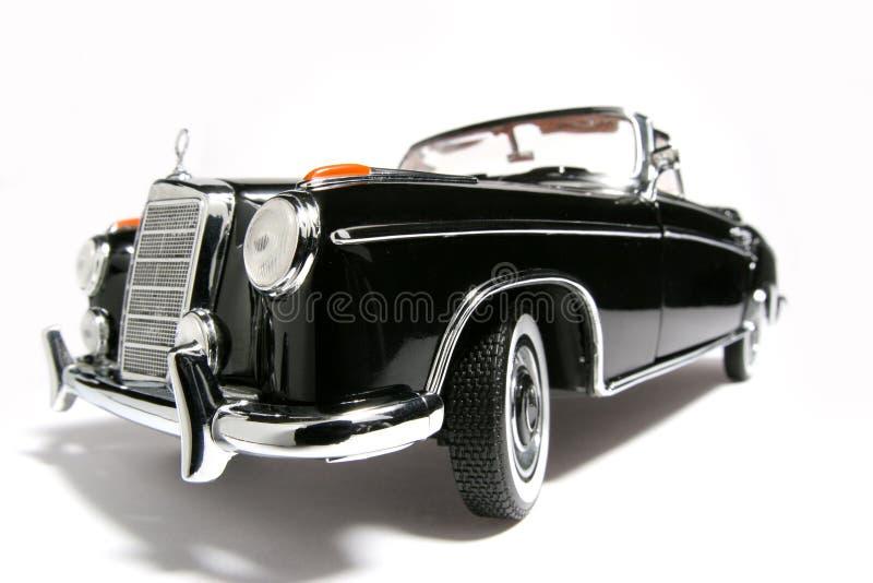 Fisheye 1958 del coche del juguete de la escala del metal del SE del Benz 220 de Mercedes imagen de archivo