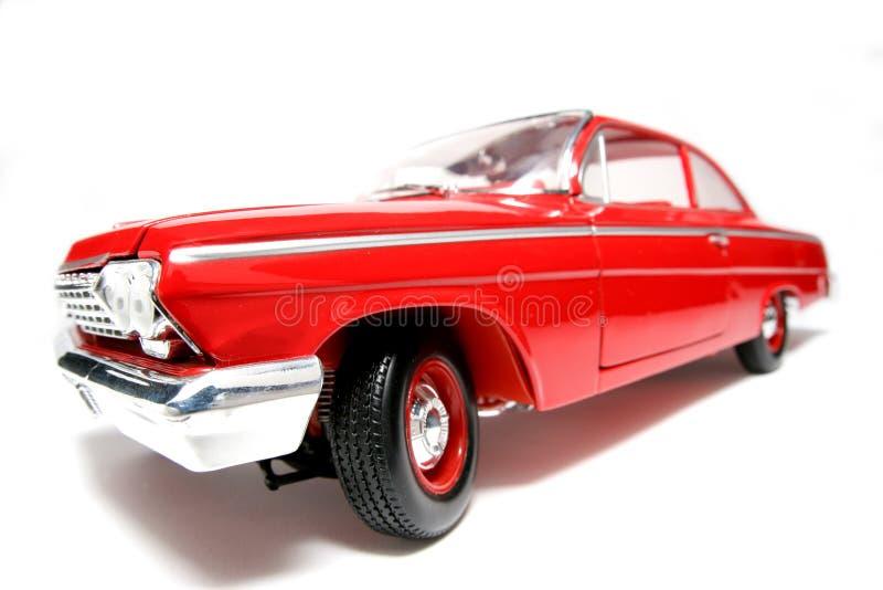 Fisheye 1962 Dell'automobile Del Giocattolo Della Scala Del Metallo Di Chevrolet Belair #6 Immagini Stock