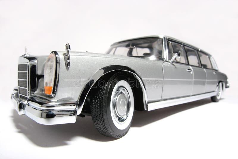 Fisheye #2 de véhicule de jouet d'échelle en métal du benz 600 de Mercedes images stock