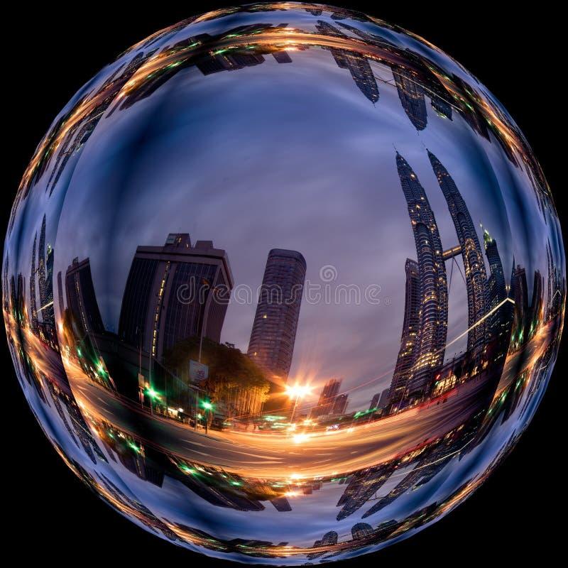 Fisheye Lens, Reflection, Sphere, Sky stock photos