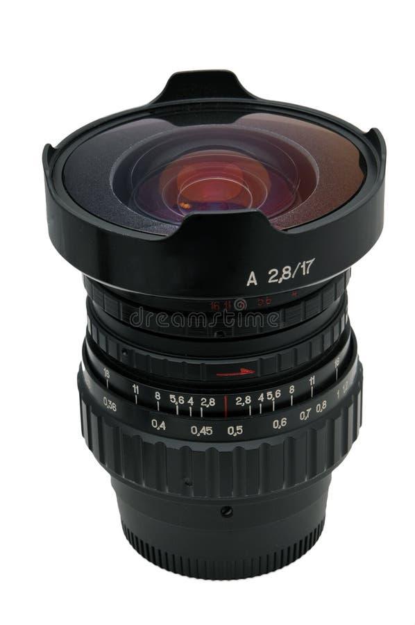 Fisheye - ultra brede lens stock foto's