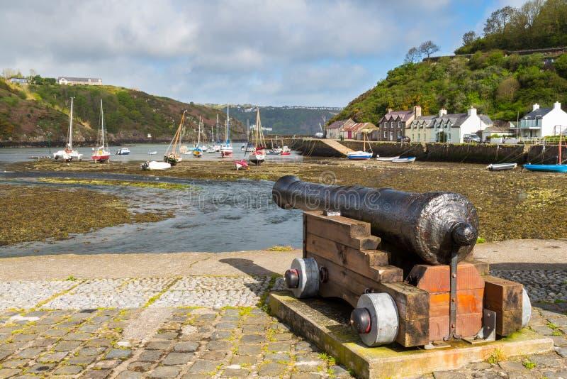 Fishguard Уэльс стоковое изображение
