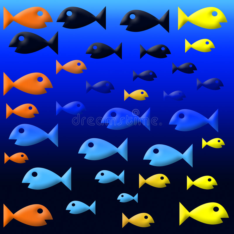 fishies arkivbild