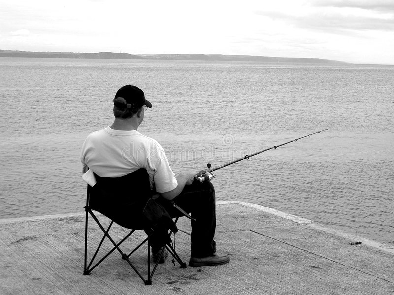 Download Fishing stock image. Image of beach, holidays, outdoors, fisherman - 1987