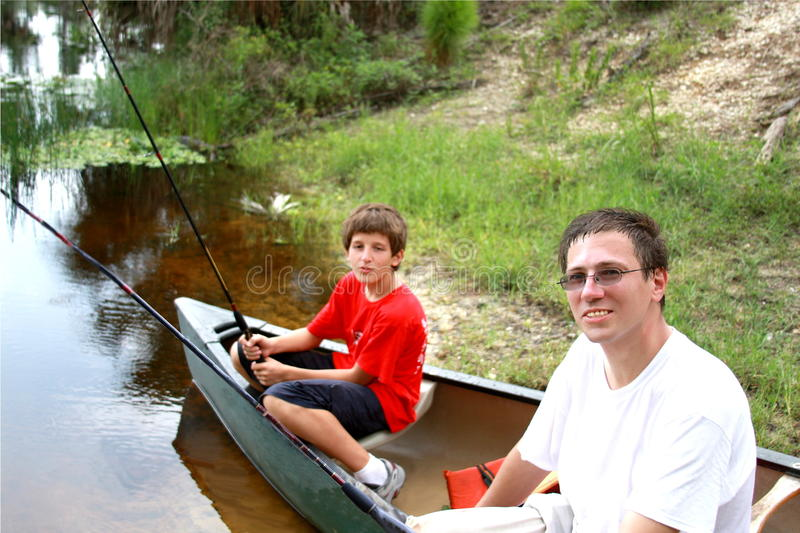 Download Fishing stock image. Image of children, parent, camp - 10048811