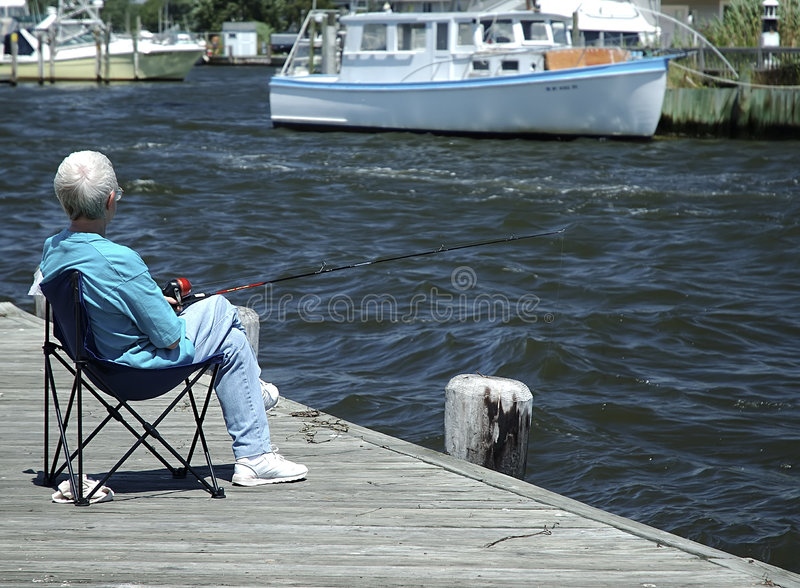 Download Fishing stock photo. Image of relaxing, deck, pole, water - 14250