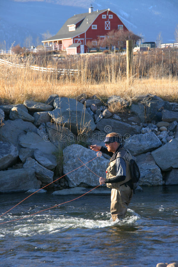 Download Fishing stock photo. Image of recreational, line, casting - 15828830