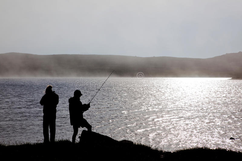 Download Fishing stock image. Image of lure, foggy, calm, mist - 16119747
