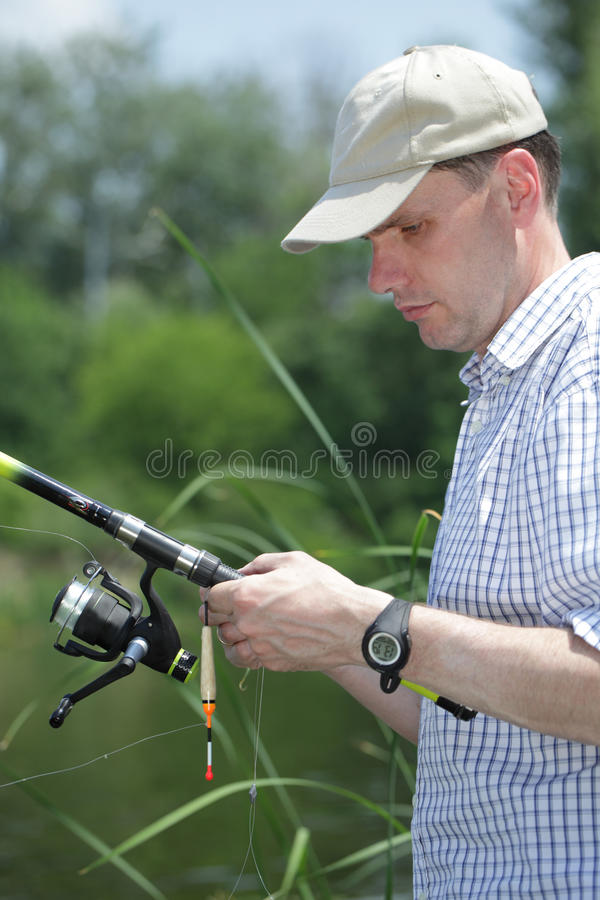 Download Fishing stock image. Image of bobber, activity, person - 20439989