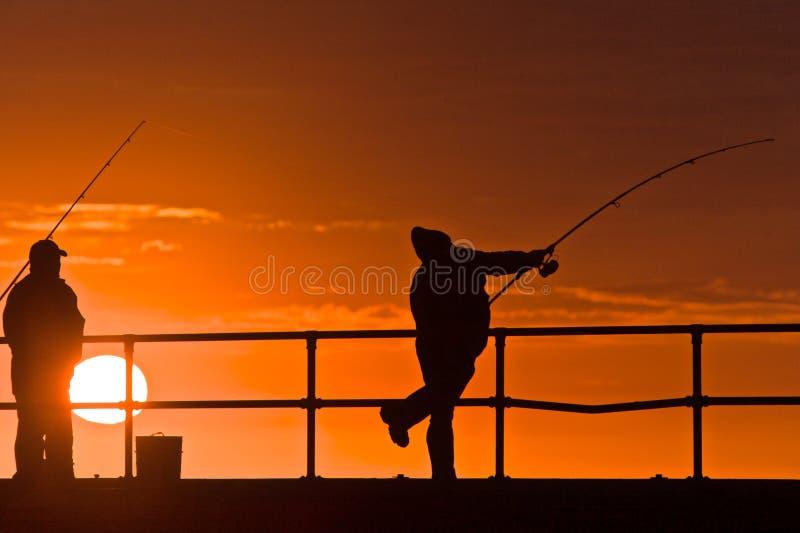 Fishing royalty free stock image