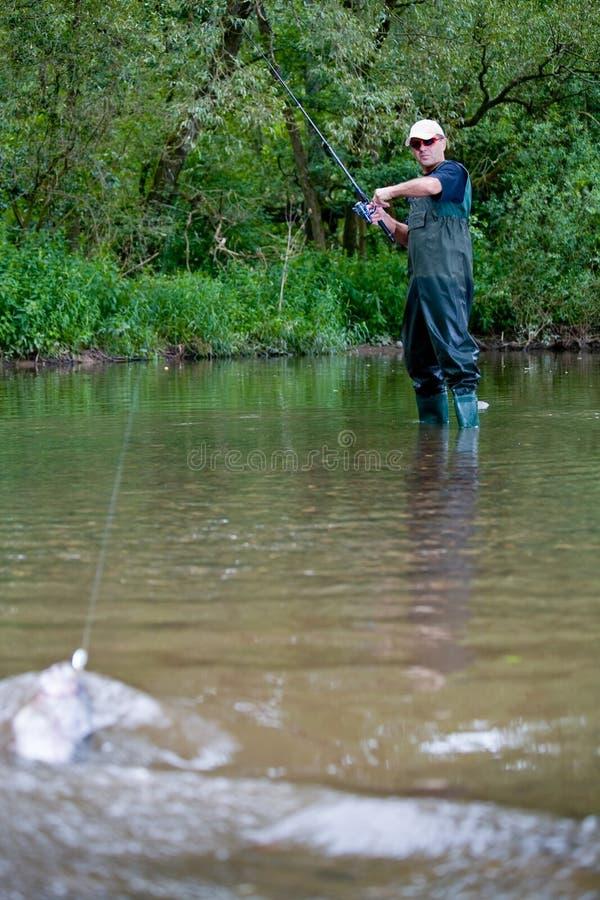 Fishing 4 royalty free stock photography