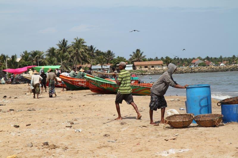 Fishing activities stock photos
