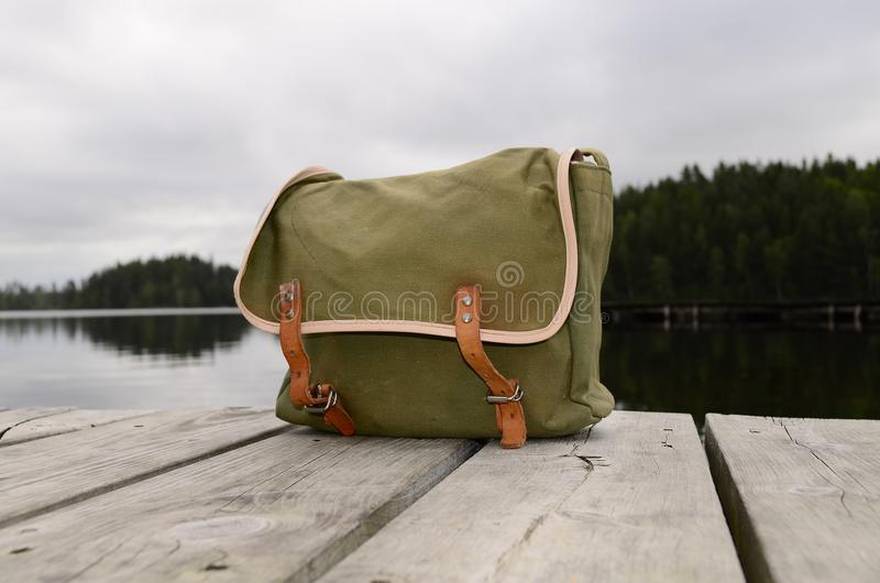 Download Fishing bag stock image. Image of backgrounds, nylon - 25528495