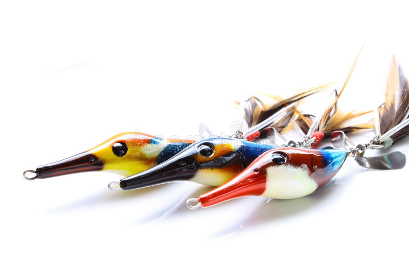 Fishing bait for excited game.  stock photography