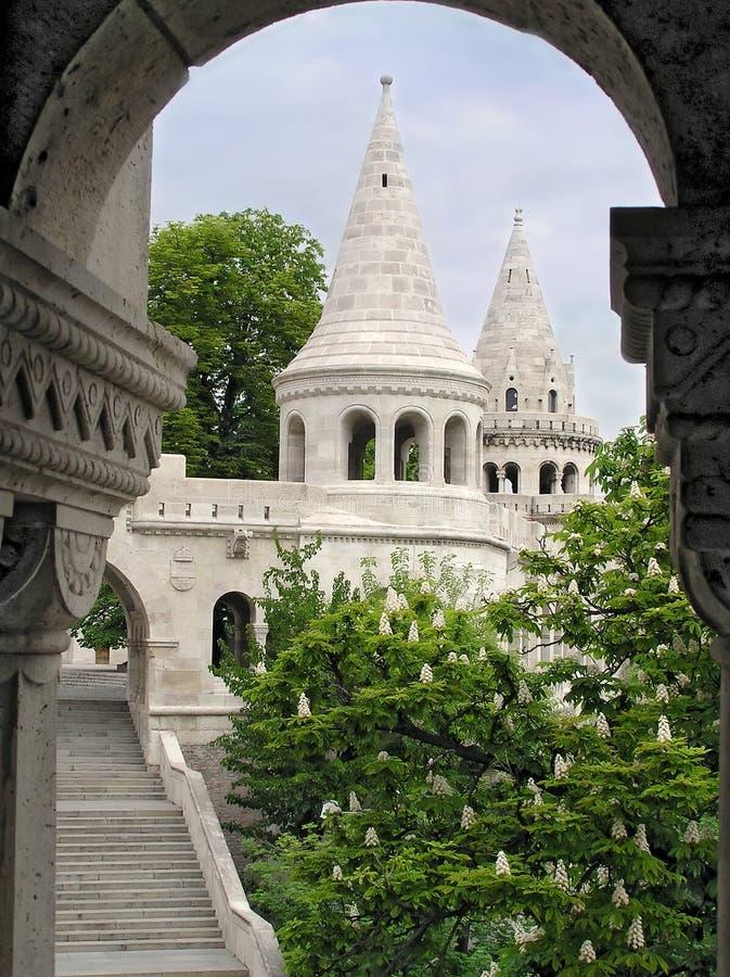 Free Fishing Bastion, Budapest, Hungary Royalty Free Stock Photo - 13412615