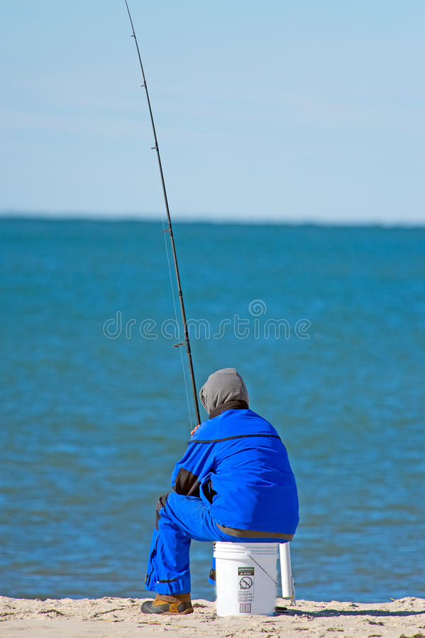 Download Fishing On The Beach stock image. Image of fish, lure - 24284463