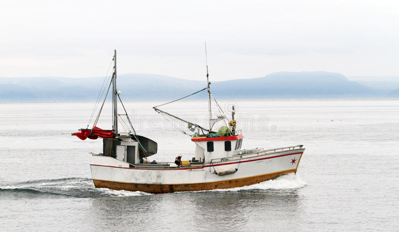 Fishing boat royalty free stock images