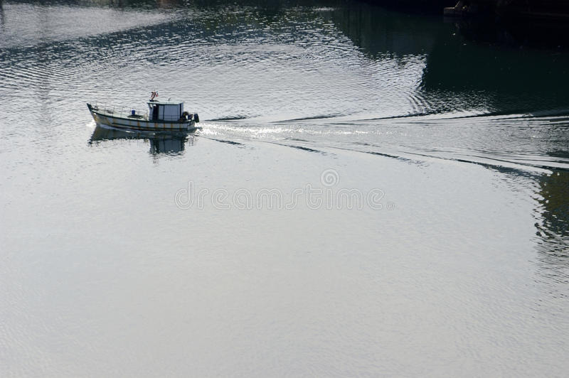 Download Fishing boat stock photo. Image of reflection, chile - 27983162
