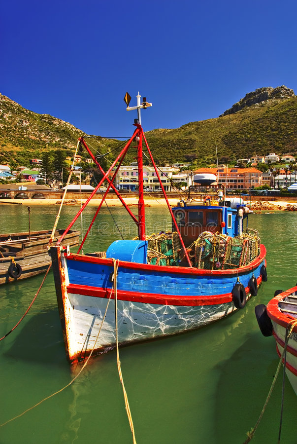 Download Fishing boat stock image. Image of trawler, swim, africa - 3745545