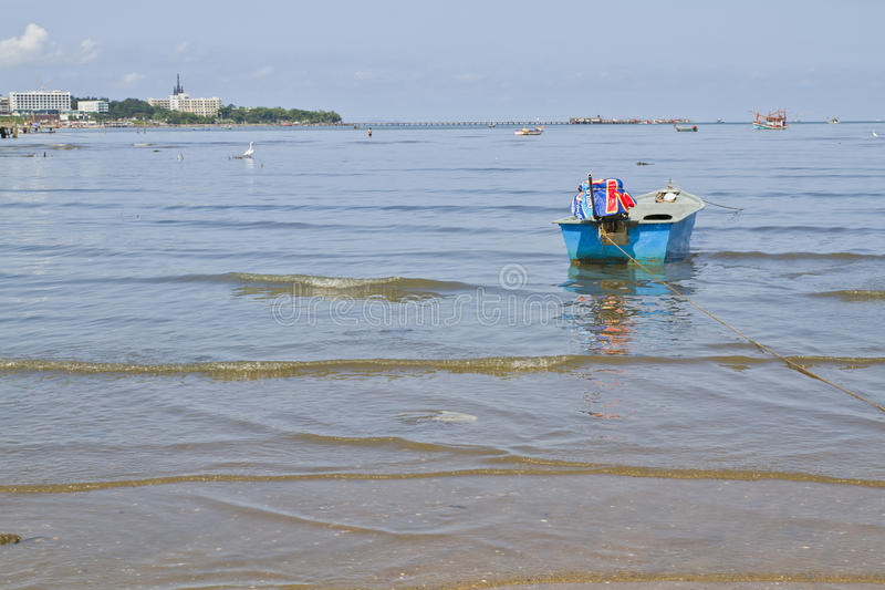 Download Fishing boat stock photo. Image of rope, wildlife, town - 30237874