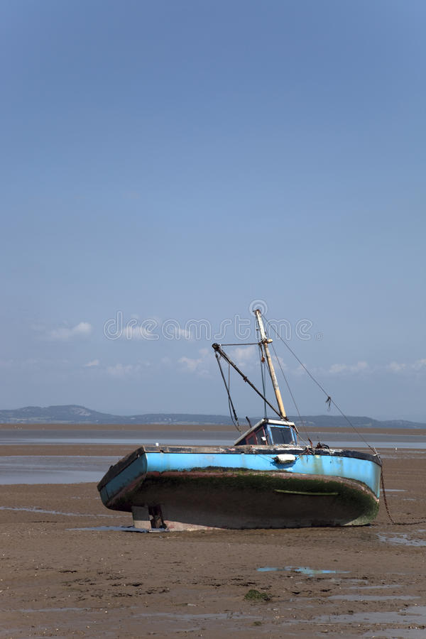Download Fishing Boat And Beach Scene Stock Image - Image: 10074975