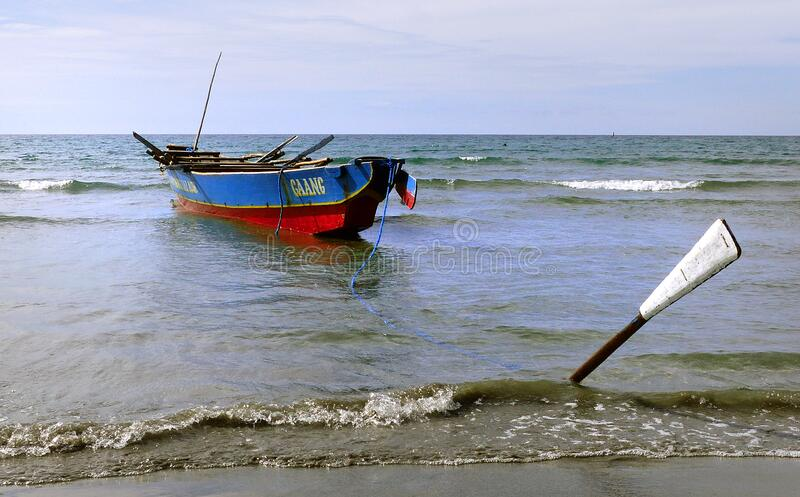 Fishing Boat Currimao Beach. Free Public Domain Cc0 Image